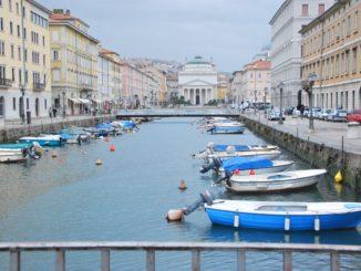 Canal Grande e James Joyce a Trieste
