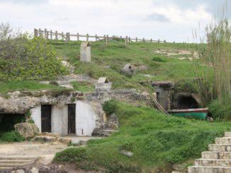 イタリア、プーリア沿岸-そこに住んでいたか、そこに住む? 2013年4月