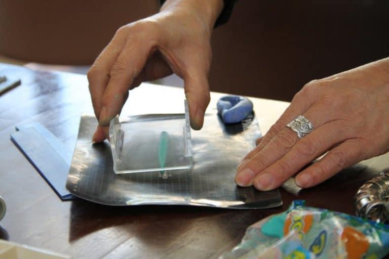 Intentando hacer accesorios de plata