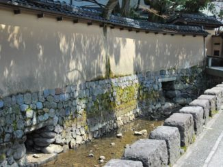 Samurai houses area