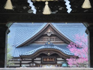 Visiting Oyama Shrine by mistake