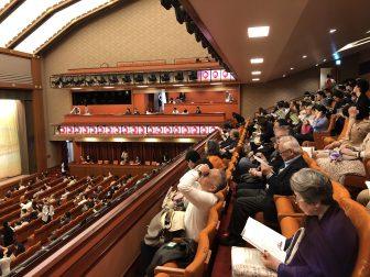 Japan-Tokyo-Ginza-Kabukiza Theatre-audience