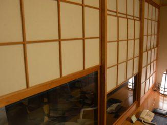 Japan, Karatsu – window, Jan.2014