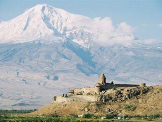 Mt.Ararat and the monastery