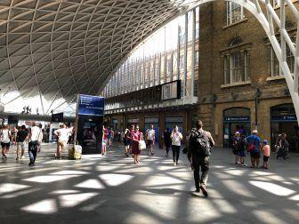 ロンドンのキングス・クロス駅