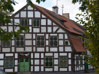 Lithuania, Klaipeda – old house, Sept.2014