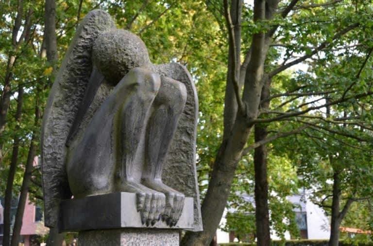 Sculpture park in Klaipeda