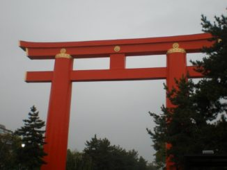 Japan, Kyoto – great Torii, Apr. 2013