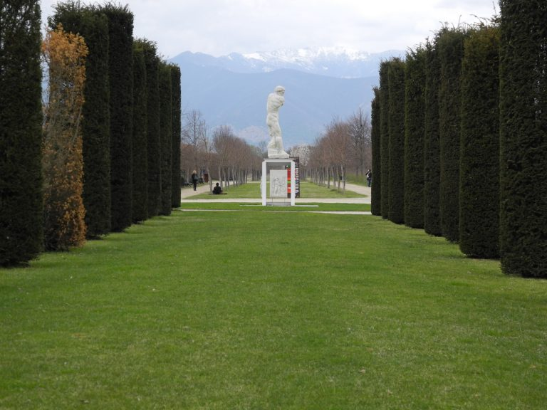 The Garden of the Palace of Venaria