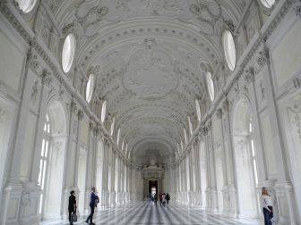 Visiting the Palace of Venaria