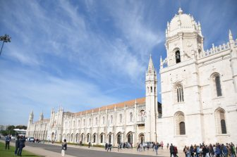 To Jerónimos Monastery, the World Heritage Site in Lisbon