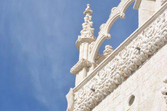 リスボンの世界遺産、ジェロニモス修道院のディテール