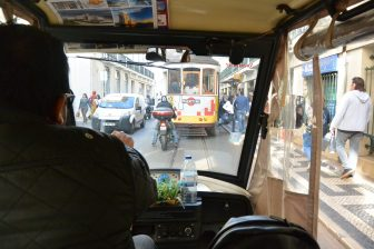 Going Around Lisbon with a Tuk Tuk