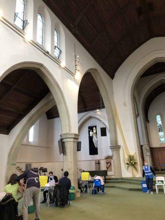 iglesia-vacunación-Londres-Reino-Unido