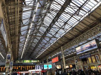 Victoria Station a London dove partono i treni per Brighton