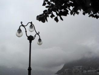 Switzerland, Lugano – lamp, Oct.2014