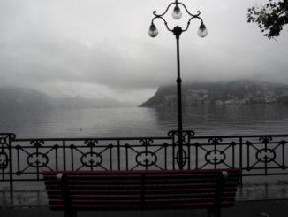 La piovosa Lugano