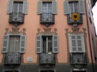 Switzerland, Lugano – windows, Oct.2014