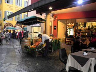 Switzerland, Lugano – shops, Oct.2014