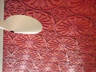 Switzerland, Lugano – red ceiling, Oct.2014