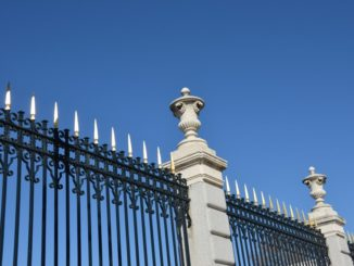 Spain, Madrid – fence, Mar.2014