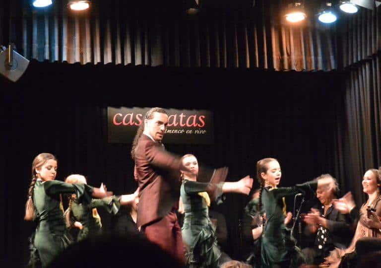 Allo spettacolo di Flamenco