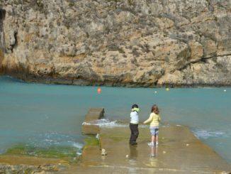 Malta, Gozo – children, Feb. 2013