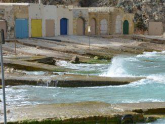 Malta, Gozo – colourful doors, Feb. 2013