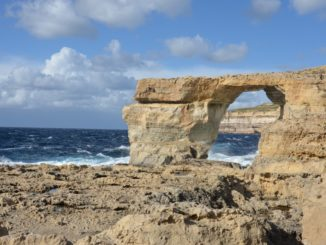 Western edge of Gozo