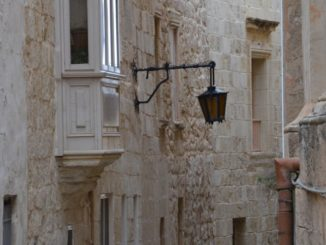 Malta, Mdina – alley, Feb. 2013