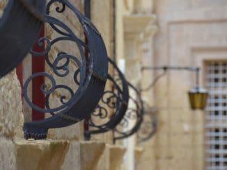 Malta, Mdina – room, Feb. 2013