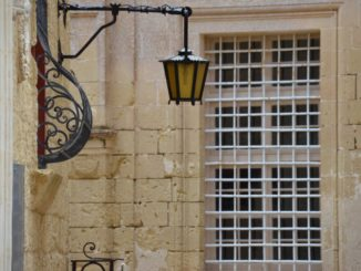 Malta, Mdina – lattice, Feb. 2013