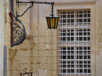Malta, Mdina – lattice, Feb. 2013