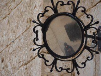Malta, Mdina – mirror, Feb. 2013