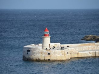 Malta, Valletta – light house, Feb.2013