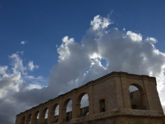 Malta, Valleta – sky, Feb.2013