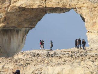 Malta, Gozo – everyone seems small, Feb. 2013