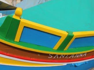 Malta, Marsaxlokk – many colors, Feb. 2013