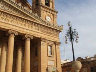 Malta, Mosta – the great church, Feb.2013