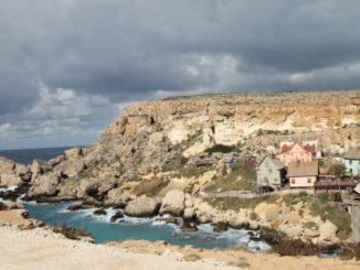 Malta, Gozo-The village of Popeye, Feb. 2013