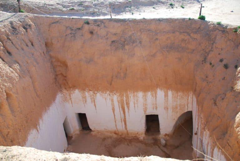 Visitare l'abitazione nella cava
