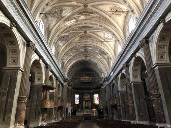 イタリア ミラノ サン・ステファノ教会 内部
