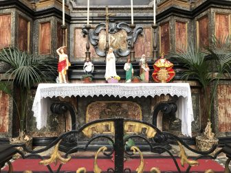 Italy-Milan-Church of San Bernardino-offerings