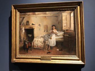 Italy-Milan-Pinacoteca de Brera-Gerolamo Induno-Triste Presentimento