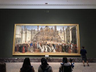 Italy-Milan-Pinacoteca di Brera-picture-people