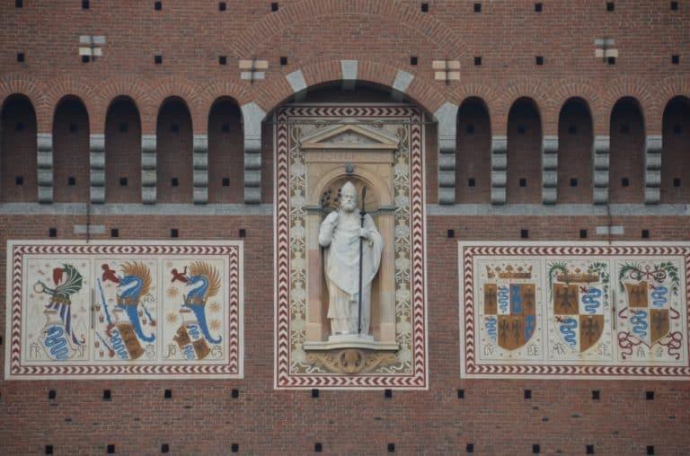 Visitando rapidamente il Castello Sforzesco