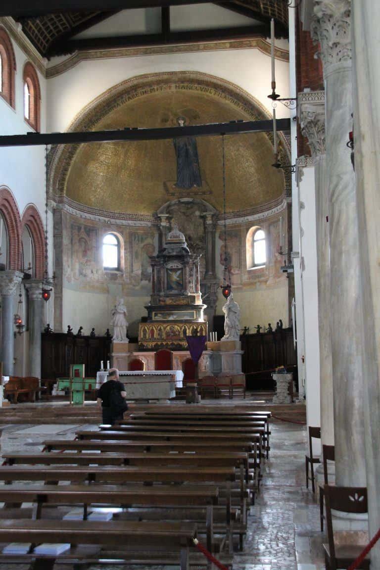 Murano, Basilica – inside, Apr.2017 (Venice)