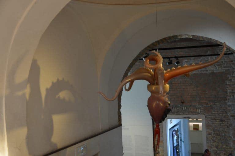 Murano, museum – octpus, Apr.2017 (Venice)