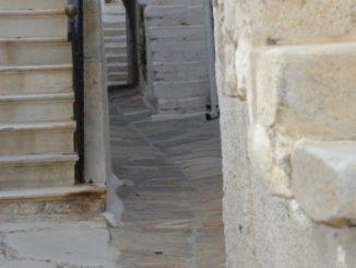 Greece, Naxos – arch, Aug.2013