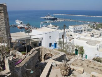 Greece, Naxos – town and sea, Aug.2013